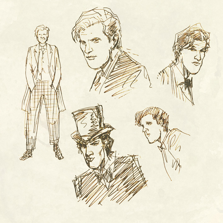 Doctor Who Illustration Andrew Chiu